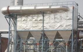 picture of bag house type air filter