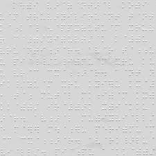 picture of braille paper