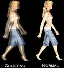 picture of image ghosting