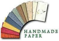 picture of handmade paper