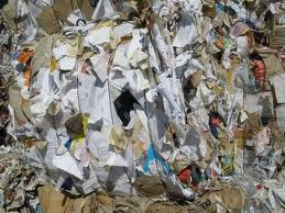 picture of mixed office waste paper