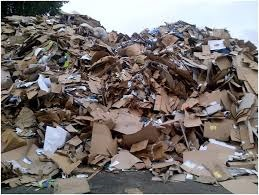 waste paper bale